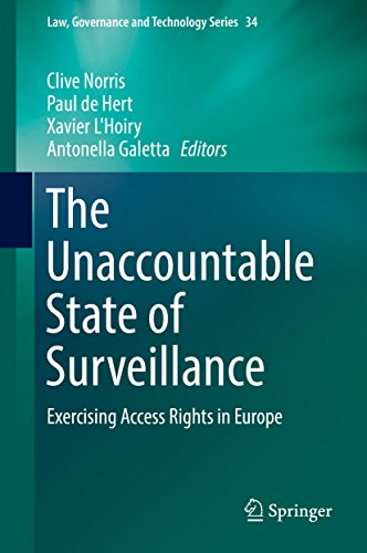 The Unaccountable State of Surveillance: Exercising Access Rights in Europe (Law, Governance and Technology Series Book 34) (English Edition) -