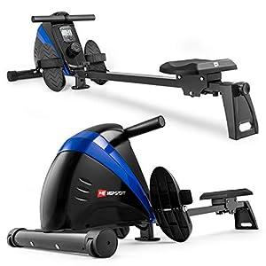 Hop-Sport Rudergerät Boost Ruderzugmaschine mit Computer & Magnetbremssystem...