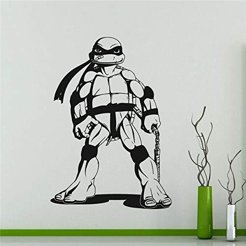 Michelangelo Mike Tortues Ninja Autocollant Super-Héros Autocollant Comics Art Décor À La Maison N'importe quel Autocollant Imperméable À L'eau