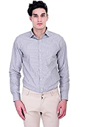 [Sponsored]Men's Junction Striped Formal Shirt
