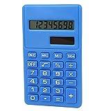 Petite poche portable Affichage LCD bleu calculatrice électronique
