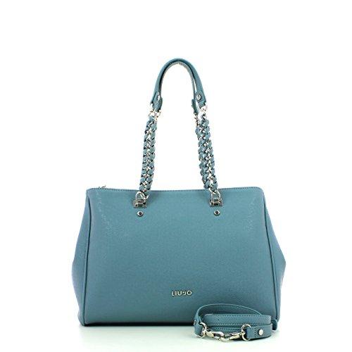Liu Jo Anna E/W Shopping L black blau