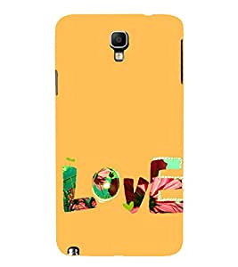 99Sublimation Love and Life 3D Hard Polycarbonate Back Case Cover for Samsung Galaxy Note 3 Neo :: Duos :: 3G N750 :: LTE+ N7505 :: Dual SIM N7502