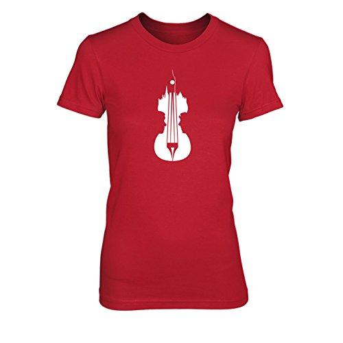 Sherlock Violin - Damen T-Shirt, Größe: M,
