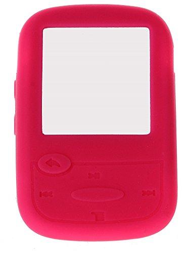 Silikonschutzhülle für SanDisk Sansa Clip Sport MP3-Player, Rosa Pink Mp3 Sansa Clip