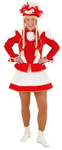 Band Kostüm Marching - Fancy Me Herren Marching Band Cheerleader Geek Comedy peinlich Junggesellenabschied Spaß Kostüm Kleid Outfit - Rot, XX-Large
