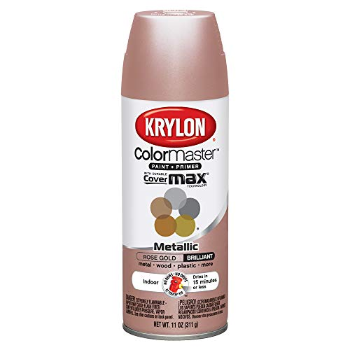 Krylon - Aerosol rosa dorado metálico (pintura)