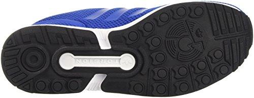 adidas ZX Flux, Baskets Basses Homme Bleu (Blue/Blue/footwear White)