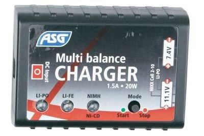 Multi balance charger, NimH, NiCd, LiPo, Lilon
