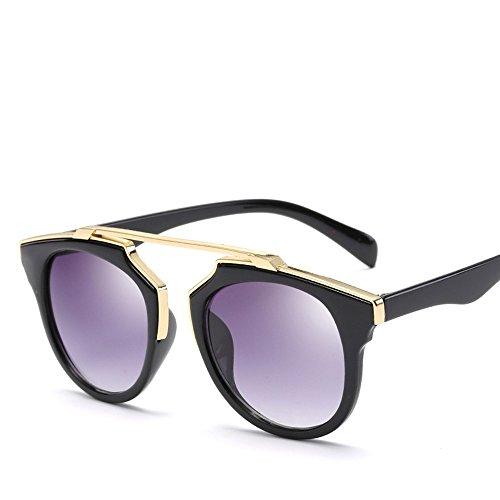 VENMO Moda Unisex Aviator Espejo Lente Viaje Gafas de sol (A)