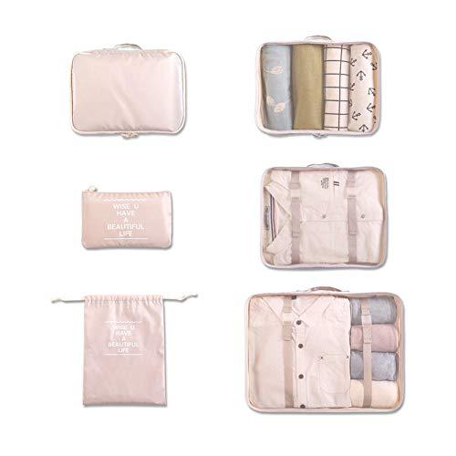 BEARCOLO Travel Organizer Luggage Lingerie Pouch Travel Organizer Bags Clothes Clothes Storage Bag Sets six Sets