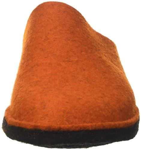 Haflinger  Flair Soft, Pantoufles Maison mixte adulte Orange (Rost 243)