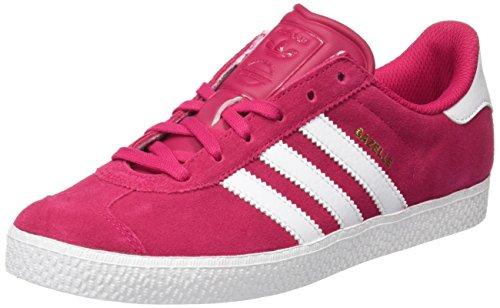 Adidas Gazelle 2.0 Schuhe (adidas Unisex-Kinder Gazelle 2 J Low-Top, Pink (Bold Pink/Ftwr White/Ftwr White), 40 EU)