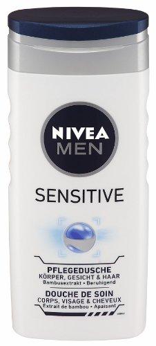 Nivea Men Sensitive Pflegedusche , 4er Pack (4 x 250 ml)