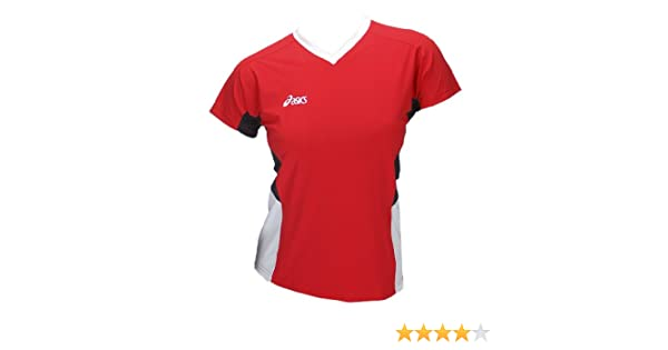 Asics Indoor Volleyball Handball Teamsport Sportshirt Trikot Offence Slee Top Damen 0600 Art. 648203 Größe S