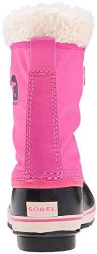 Sorel Yoot Pac, Bottes de Neige fourrées mixte enfant Haute Pink