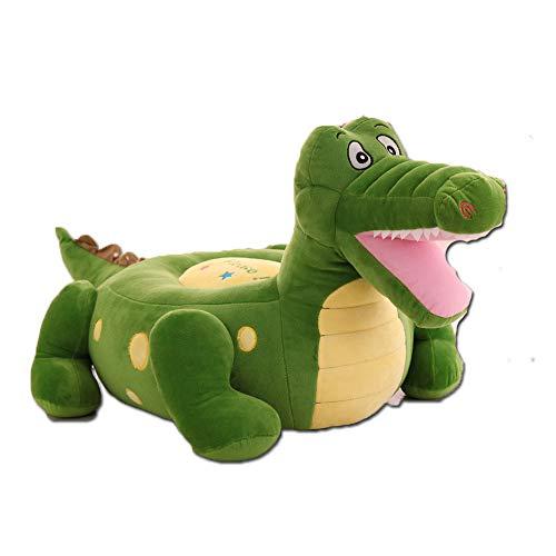PUDDINGT® Kindersessel, Kindersofa Cartoon Mädchen und Jungen Geburtstagsgeschenk Spielzeug Faul Gepolstert Nettes Baby Kleines Sofa Sitz Kind Stuhl,Green