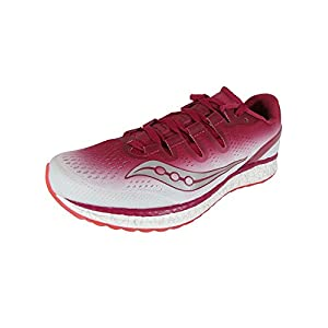 SAUCONY FREEDOM ISO WOMENS (9,5 USA - 41 EUR) (BERRY/WHITE)