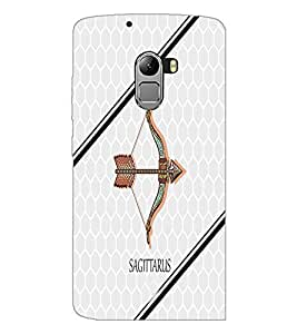 PrintDhaba Zodiac Sagittarius D-4800 Back Case Cover for LENOVO K4 NOTE A7010a48 (Multi-Coloured)
