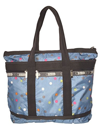 lesportsac-womens-travel-tote-litho-dot-blue