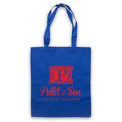 Inspiriert durch Horrible Bosses Pellit & Son Chemical Company Inoffiziell Umhangetaschen Blau
