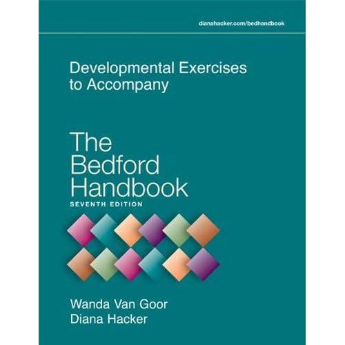 The Bedford Handbook by Diana Hacker (2005-11-18)