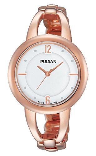 Pulsar Reloj Mujer de Analogico con Correa en Chapado en Acero Inoxidable PH8208X1
