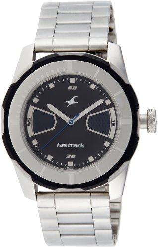 Fastrack Economy 2013 Analog Black Dial Men's Watch - 3099SM05 image