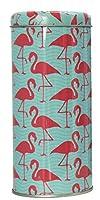 Bada Bing Boîte métal Boîte à café Boîte de conservation Flamingo rond Menthe Rose Blanc Café Thé Sucrier 133