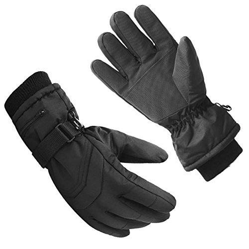 Preisvergleich Produktbild ganlixia Winddicht Outdoor Elektro-Motorrad Reithandschuhe Plus Samt Dick kalt warm Handschuhe