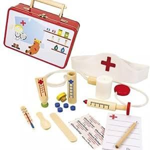 d guisement enfant malette infirmi re docteur jouet en bois 3 ans jeux et jouets. Black Bedroom Furniture Sets. Home Design Ideas
