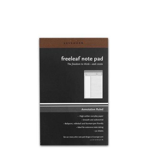 Levenger Freeleaf Annotation Ruled Pads, Junior (5) (ADS5580 JNR) by Levenger