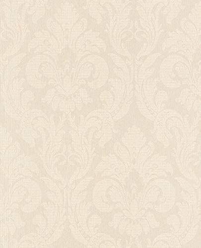 Rasch Textil Vlies-Tapete Kollektion Velluto 074962 Grün, Oliv, Mint