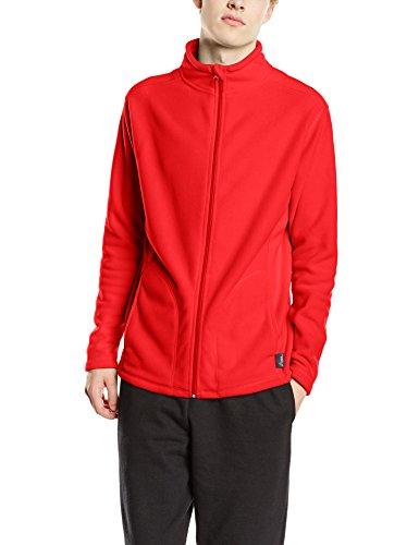 Stedman Apparel Herren Sweatshirt Active Fleece Jacket/ST5030 scharlachrot M - Active Fleece