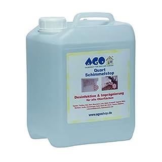 AGO ® Quart Schimmelstop 5 Liter/Wirkt dauerhaft gegen Schimmel