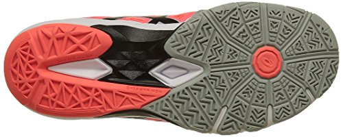 Asics Damen Gel-Blade 5 Handballschuhe grau / korall