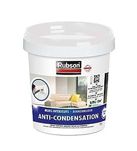 Rubson 1383397 anti condensation pot plastique blanc bricolage - Peinture anti condensation ...