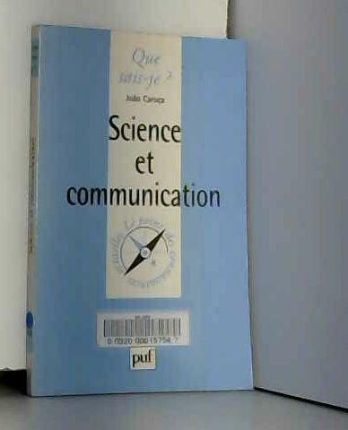 Science et Communication