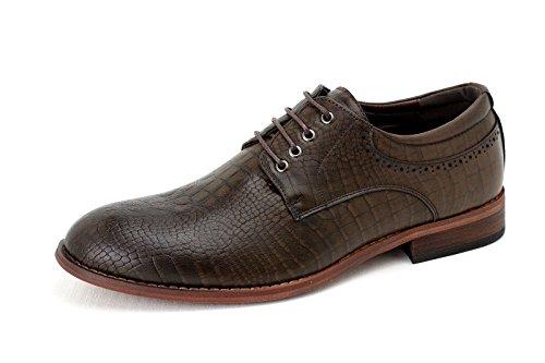 Jas Pour Les Hommes Nouveau Oxford Décontracté Chaussures Élégantes Avec Des Lacets Formels Derby Office Mariage Mesure Uk Café