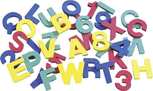 Knorr Prandell Gütermann 1510510 - Sellos de Letras y números de gomaespuma (36 Piezas)