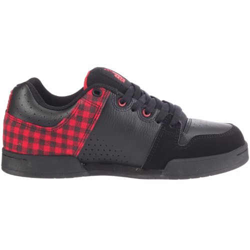 DC Shoes TURBO 2 TP SHOE D0302847, Scarpe sportive uomo Nero/Rosso