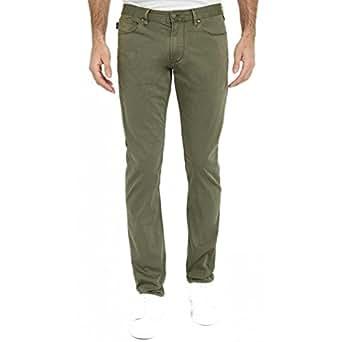 new styles 13943 cf966 ARMANI JEANS Pantalone uomo, slim fit verde, art. C6J93FW ...
