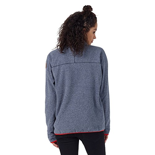 Burton Anouk Fleece Pullover Sweat-Shirt Femme Mood Indigo Heather