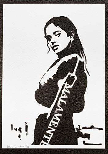 Poster Rosalia Handmade Graffiti Street Art - Artwork
