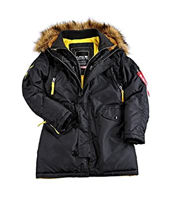 alpha industries damen jacken winterjacke pps n3b. Black Bedroom Furniture Sets. Home Design Ideas