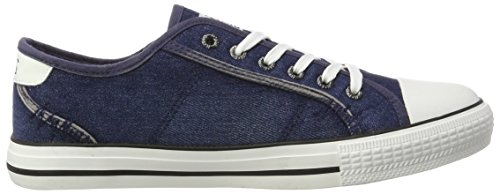HIS 151-020, Sneakers basses homme Blau (navy washed jeans)