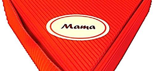 Geschenk Mama – Rosen Schoko Frühstücks Paket 6x50ml | gut als Geburtstagsgeschenk, Weihnachtsgeschenk für Mama oder Mutter, Geschenke Mama zur Geburt, Geschenkidee Mama,