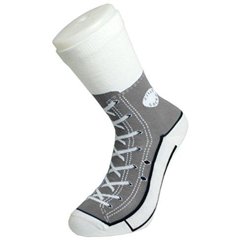 Sneaker Socken - Silly Sock - grey / grau