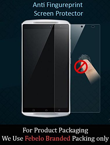 Febelo Branded 2.5D Crystal Clear 9H Curve Edge Tempered Glass Screen Protector For Lenovo Vibe K4 Note (We pack our Product in Febelo Branded Packing Only)