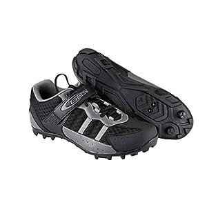 Zapatillas de Ciclismo para Pedales SPD de Bicicleta de Montaña MTB y Trekking Talla 43 3715